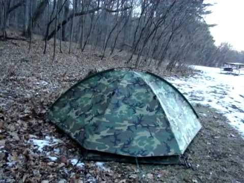 & Eureka TCOP (Tent- Combat One Person) - YouTube