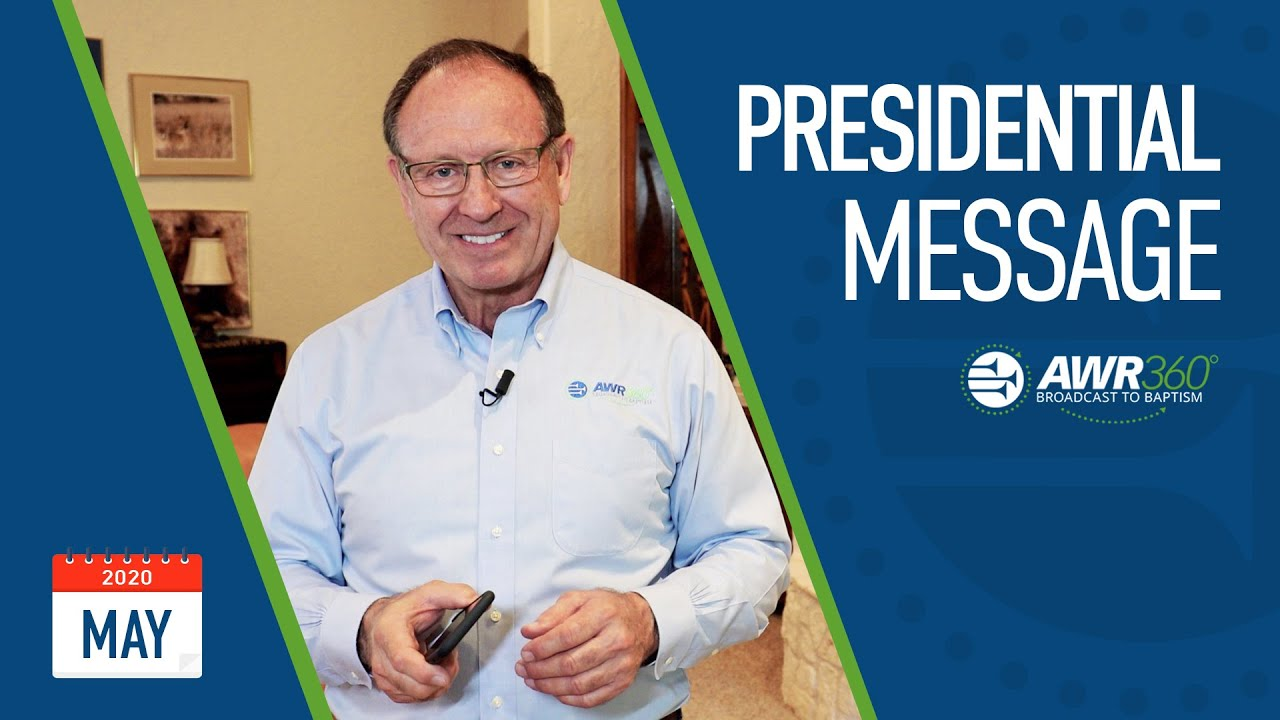 video thumbnail for May 2020 President's Report