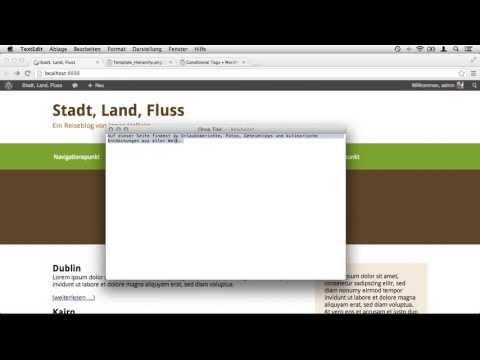 WordPress -- 3 Möglichkeiten die Startseite (Homepage) anzupassen