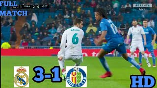 Download Video Real Madrid vs Getafe 3-1 All goal and Extended Highlight 3-3-2018. MP3 3GP MP4
