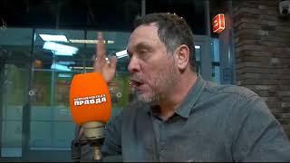 Свонидзе получил по хлебалу за пиСдёжь про Сталина и СССР