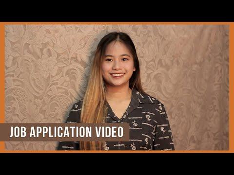 Job Application Video