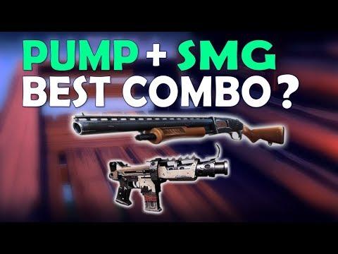 THE BEST LOADOUT IN FORTNITE? | PUMP TAC SMG | PRO & FUNNY GAMEPLAY - (Fortnite Battle Royale)