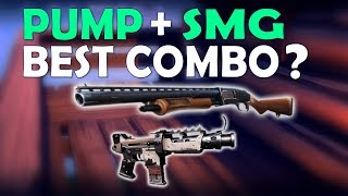 THE BEST LOADOUT IN FORTNITE? | PUMP TAC SMG | PRO & FUNNY GAMEPLAY - (Fortnite Battle Royale) thumbnail