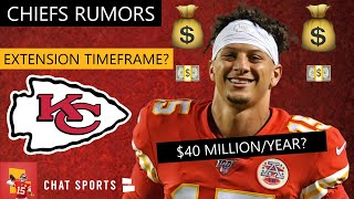 Chiefs Rumors: Patrick Mahomes Contract Extension Coming After The 2020 NFL Draft? | Chiefs News