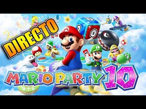 En Directo: Mario Party 10 Con Sara y Elyas