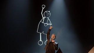 Måns Zelmerlöw performs