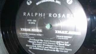 Ralphi Rosario An instrumental need (Club need)