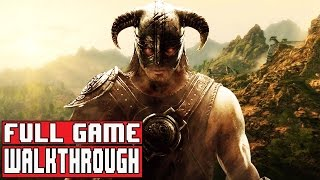SKYRIM SPECIAL EDITION FULL Gameplay Walkthrough Part 1 FULL GAME (Main Campaign)