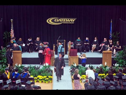 Gateway Technical College's Commencement Ceremony 2017 (Full)