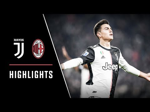 HIGHLIGHTS: Juventus vs AC Milan - 1-0 - Dybala scores the deciding goal!