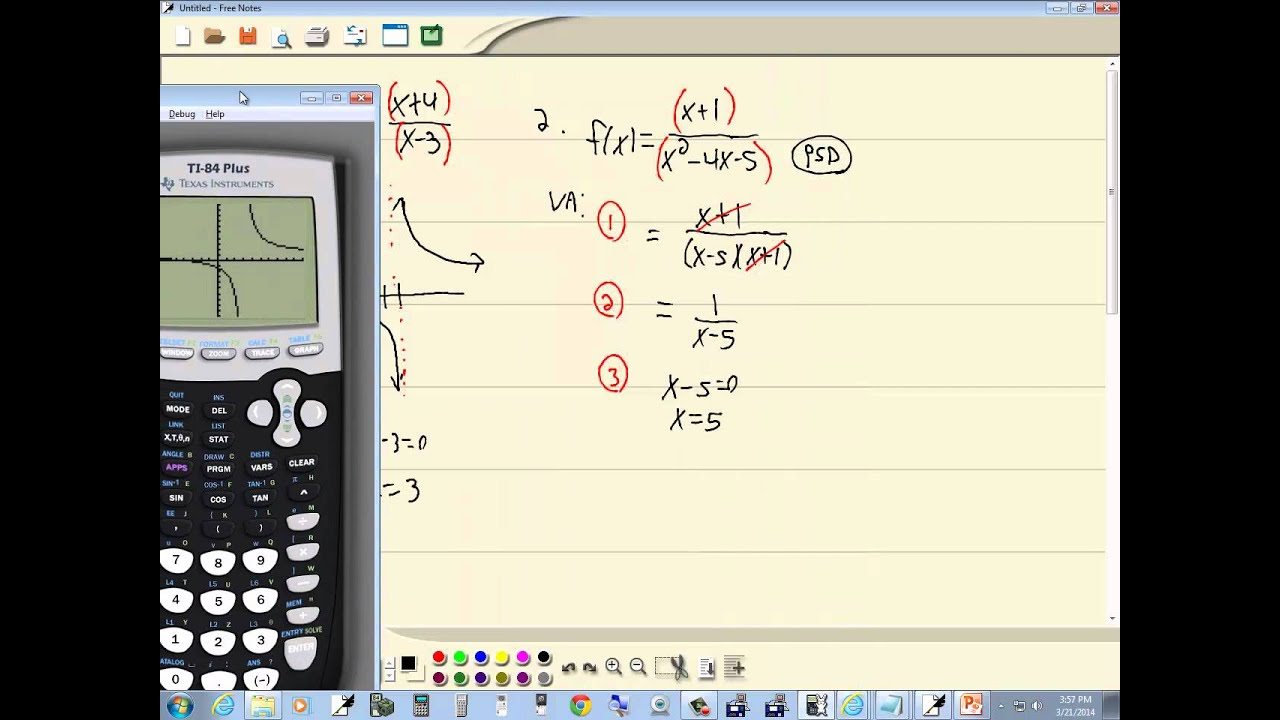 Technology in college algebra rational functions graphing ti technology in college algebra rational functions graphing ti 84 plus ccuart Image collections