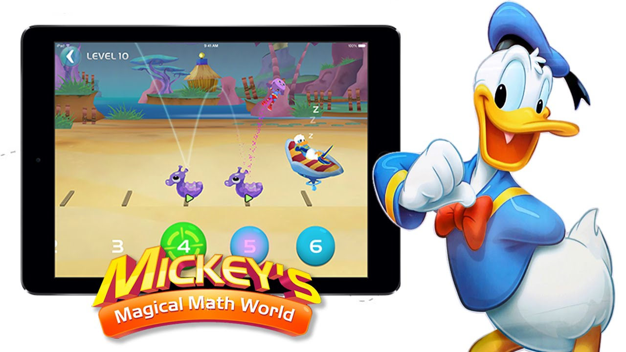 Mickeys Magical Maths World Donalds Addition Subtraction