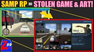 SAMP RP Developer on Steam Lashes Out And Is Selling a Stolen Free Online Game As His Own!