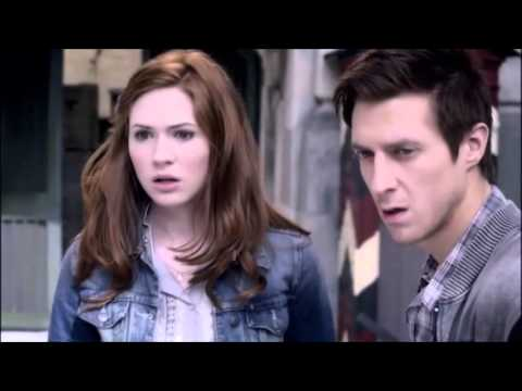 Doctor Who - Let's Kill Hitler - Amy and Rory chase River