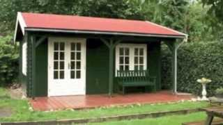 Lugarde Garden Cabins Premium Log Cabins