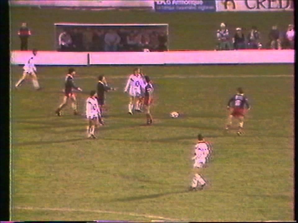 Brest Armorique Psg Saison 1985 86 Youtube