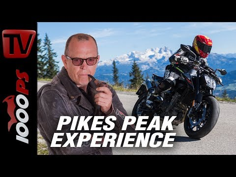 Irre gut: Pikes Peak KTM Duke 790 - Race to the Cows