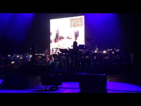 Nas at Radio City Music Hall June 23 2014- Front Row, NY state of mind. With a full orchestra