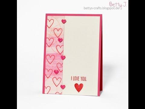 I love you zum Valentinstag