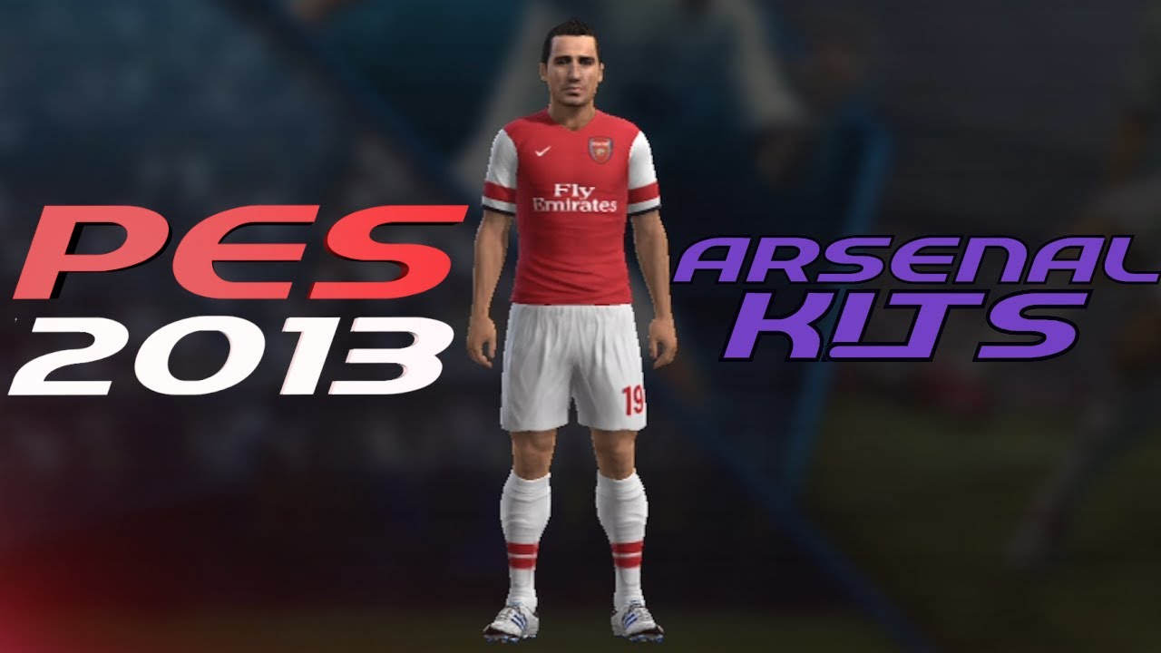 new style 73514 03665 PES 2013 How to Create Arsenal Kit Home + Away Jerseys