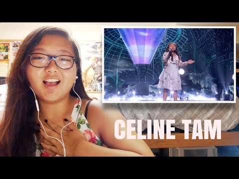 "Celine Tam: 9 Year Old Stuns The Audience With ""How Far I'll Go"" - AGT 2017 REACTION!!!"