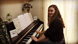 Emma (17) performing Flames (Sia and David Guetta, arr.  C Wilson)