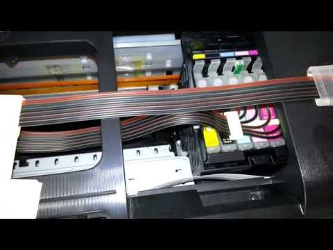 SIMPLE: How to unclog dried nozzles IN INK PRINTER