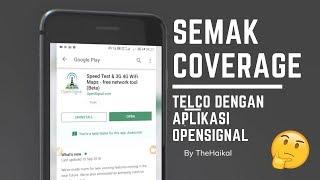 Cara Semak Coverage Maxis, Digi, Celcom, Umobile