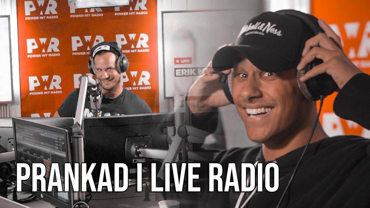 BLIR PRANKAD I LIVE RADIO - Power Hit Radio (Ska jag hämnas tillbaka?)