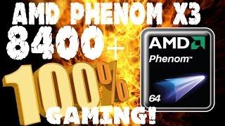 Jugando en un Amd Phenom x3 8400 @2.1GHZ al 100% (benchmarks)