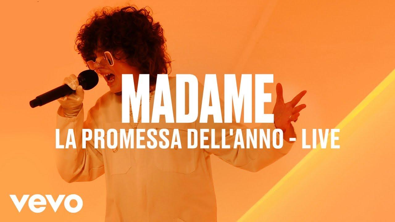Madame - La Promessa Dell'Anno (Live) | Vevo DSCVR