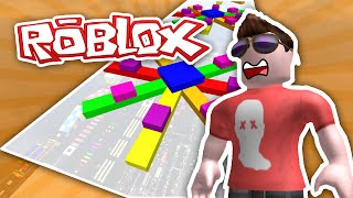 MEGA FUN OBBY #8 - FIRST TO LEVEL 400 | ROBLOX w/Imaflynmidget
