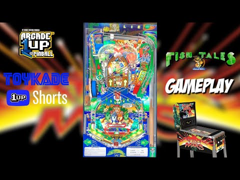 Arcade1Up Attack From Mars Gameplay - Fish Tales #Shorts from ToyKade