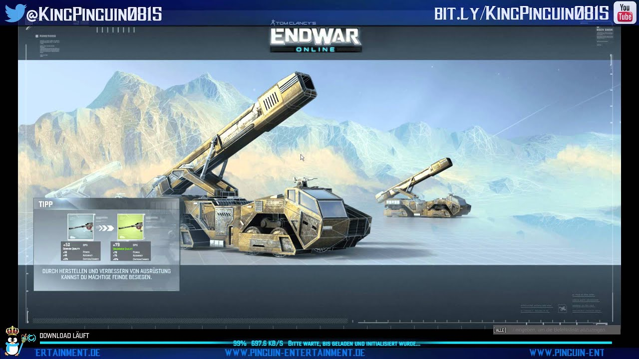 Hd wallpaper 3 tom clancy s endwar online - Angespielt Endwar Online 002 Tom Clancy Test Deutsch Gameplay Pc