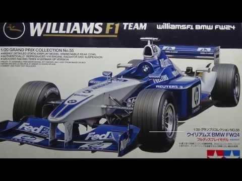 Tamiya F1 Team Williams FW24 Part 3
