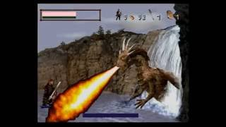 DragonHeart fire & steel Sega Saturn Gameplay