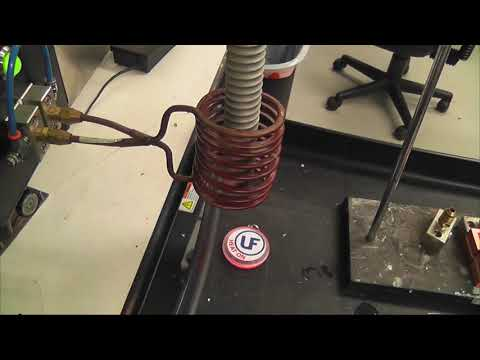 Preheating carbon steel threaded rods test2