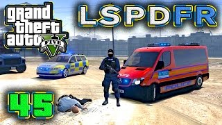 gta 5 pc lspdfr harmed response uk police merc sprinter