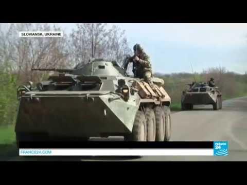 Ukraine : l'offensive des troupes ukrainiennes se poursuit sur Slaviansk