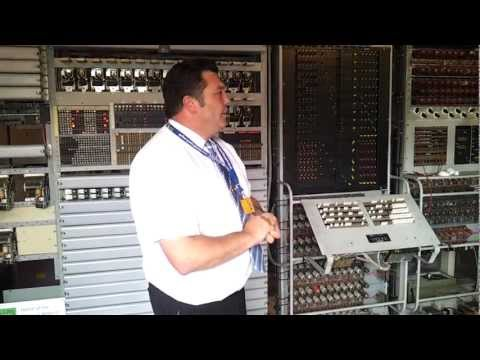 Talk through of the rebuilt Colossus at Bletchley Park