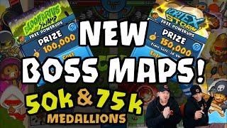 BTD Battles - New boss maps