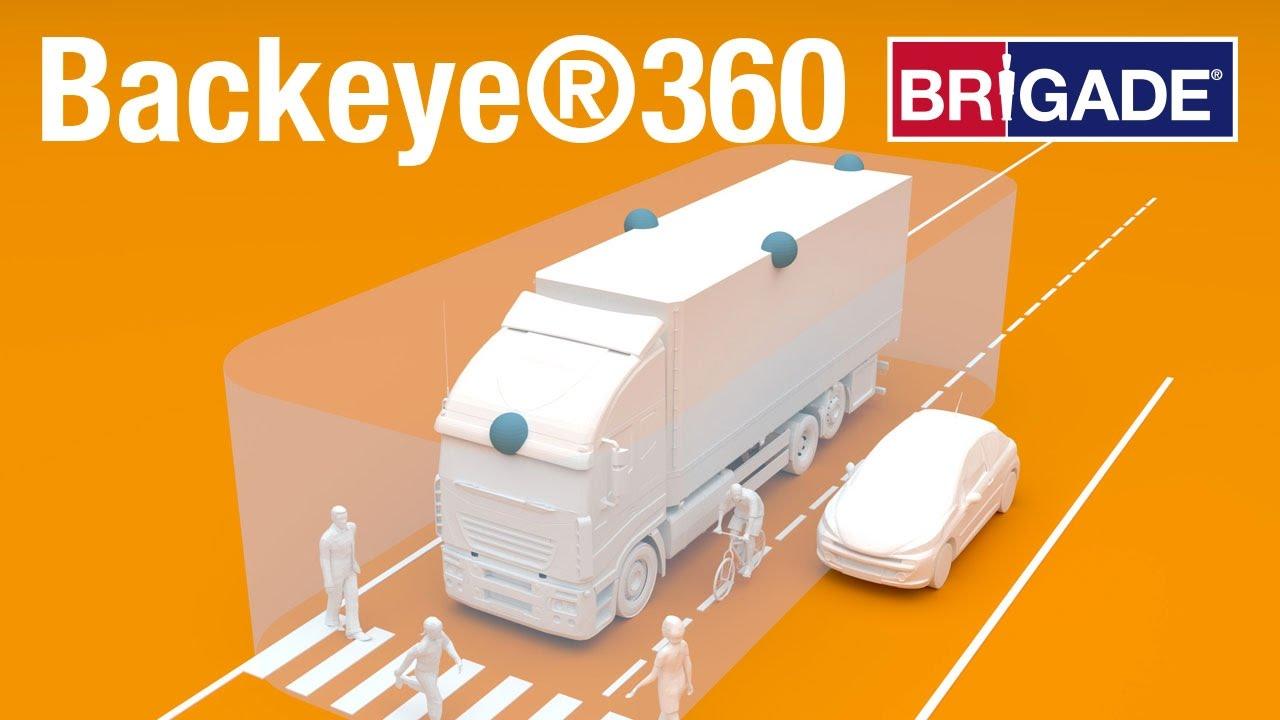brigade rear camera systems catalog backup safety backup cameras m s foster associates inc  [ 1280 x 720 Pixel ]