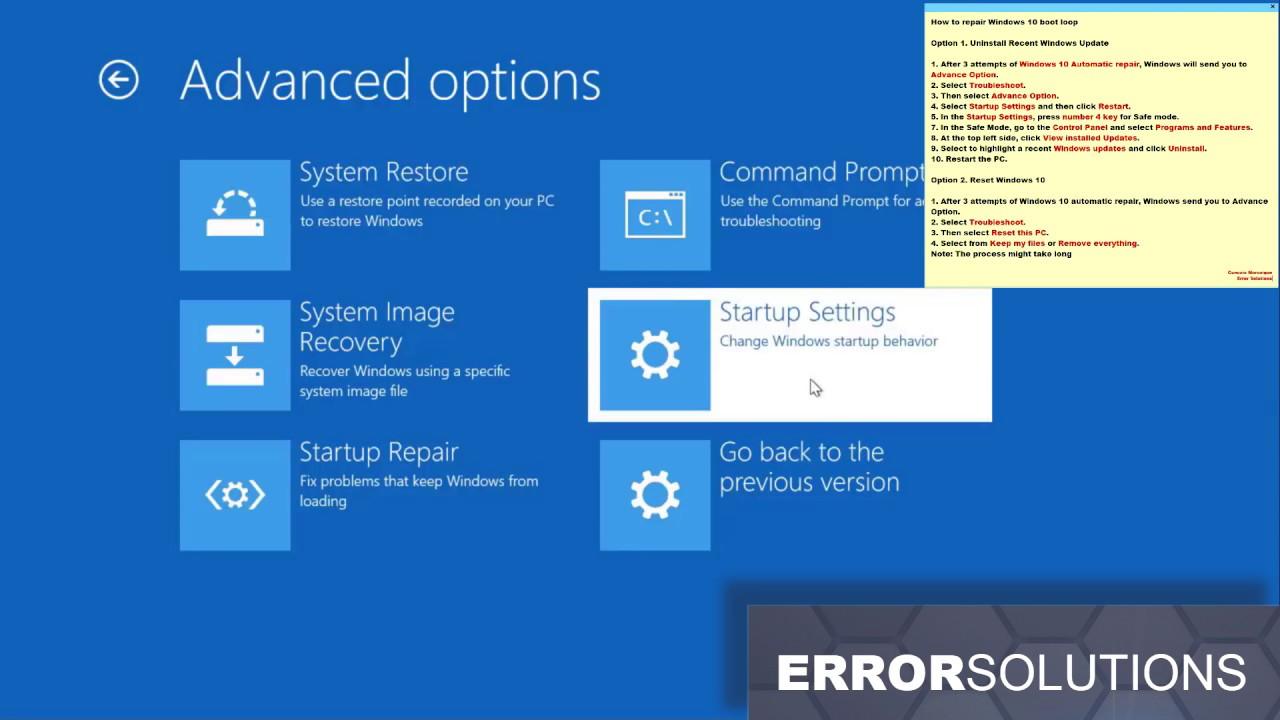 most recent windows 10 update problems