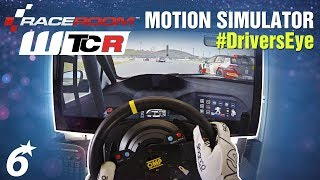 RaceRoom // WTCR in the Motion Simulator - DRIVER'S EYE