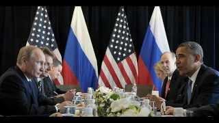 Прикольная басня про Путина и Обаму