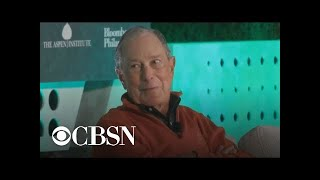 Michael Bloomberg says he doesn't see 2020 contenders reaching across aisle