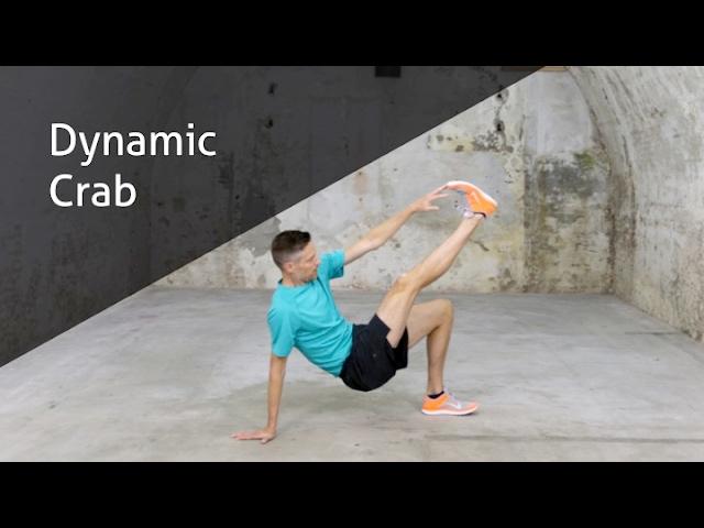 Dynamic Crab - hoe voer ik deze oefening goed uit?
