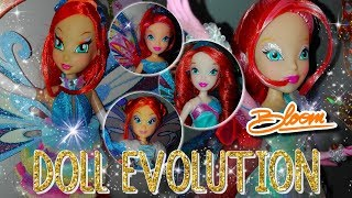 Winx Club - Bloom Doll Evolution (From Magic Winx to Tynix)