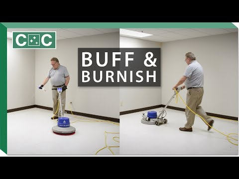 How To Buff And Burnish A Floor | Clean Care